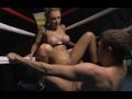 サムネイル 【洋物】美人格闘家がリングの上で汗だくSEX!!【無修正】